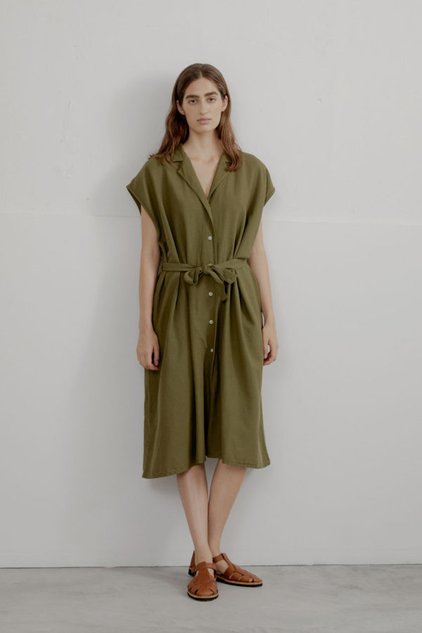 Edith-shirtdress-moss-01